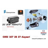 VEBOSTA EBASPACHER KURU TİP ISITICI WEBASTO 12 VOLT D2 DİZEL (MADE İN GERMANY)